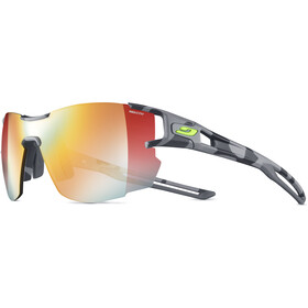 Julbo Aerolite Zebra Light Occhiali da sole Donna, grey/yellow/multilayer red